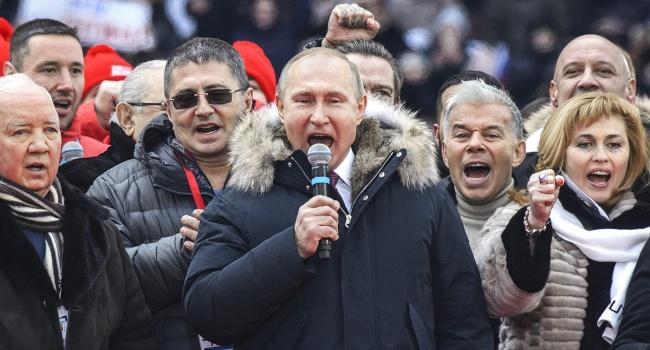 «Все для фронта! Все для победы!» – Путину альтернативы нет. В России признали, что страна ведет масштабную войну