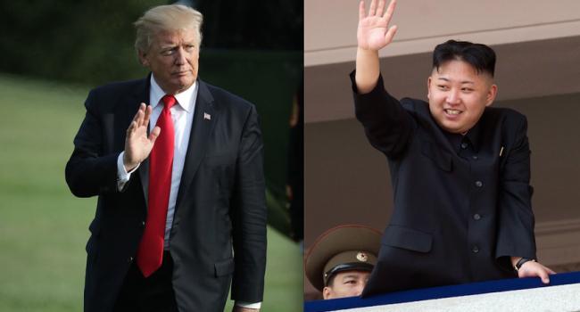 Трамп согласился на встречу с Ким Чен Ыном