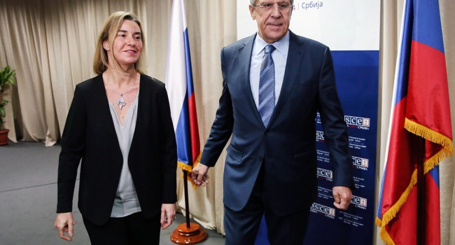Доигрались: Могерини исключила Россию из стратегических партнеров Евросоюза