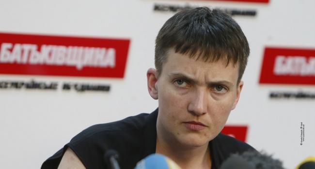 Нардеп: Савченко сбежала в Россию
