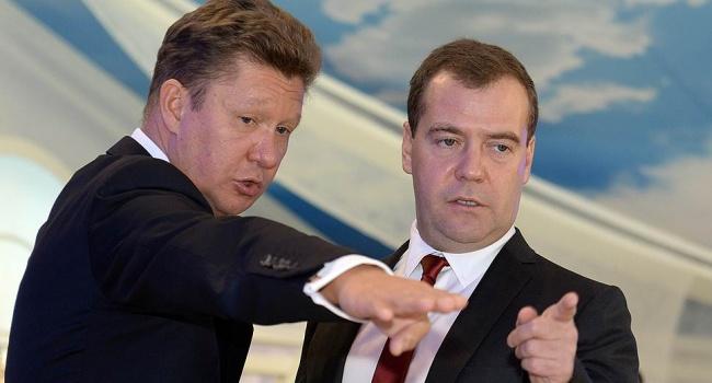 Миллер с Медведевым обсудили сроки расторжения контрактов «Газпрома» с «Нафтогазом»