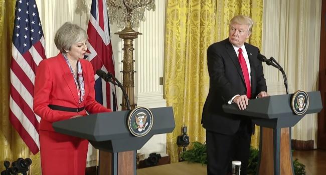 Тереза Мэй не будет делать того, чего не поддержит Дональд Трамп – осталось ждать меньше суток