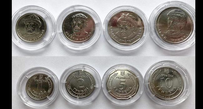 Раскрыты настоящие причины введения в обиход монет номиналом 1, 2, 5 и 10 гривен