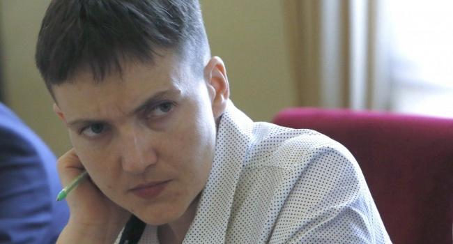 Политолог: Савченко повторит «подвиг» Лазаренко за день до снятия неприкосновенности