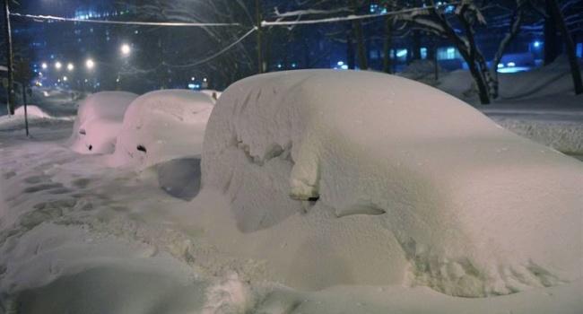 Синоптик: «Прогнозируются гигантские метры снега»