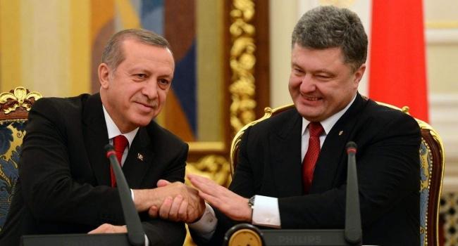 Порошенко обратился к Эрдогану из-за Крыма