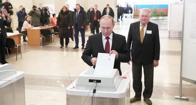 Путин не сдержал свое обещания, побоявшись ехать голосовать в Крым