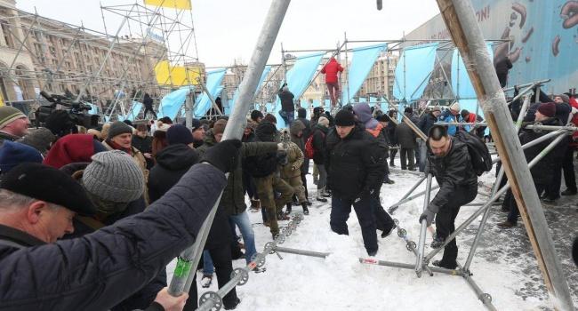 Импичмент Порошенко оказался интересным только Сакварелидзе и тысяче его «спартанцев»