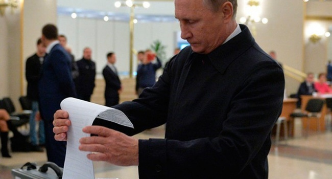 ЕС блокируют результаты выборов Путина в Крыму