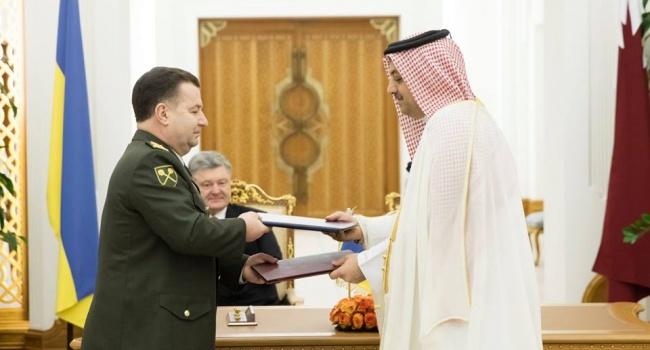 «Убер-патриоты» считают, что Порошенко уехал в Катар не работать, а скрываться от «народного гнева»
