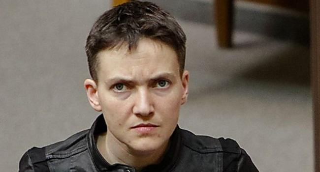 Савченко признала причастность к вывозу оружия из ОРДЛО и разговорах об организации терактов