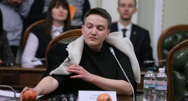 Политолог: Луценко забыл отметить, что во время Майдана Савченко была на стороне «Беркута»