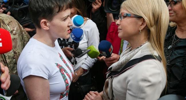 Тимошенко о Савченко: «Ей нужна была психологическая реабилитация после возвращения из РФ»
