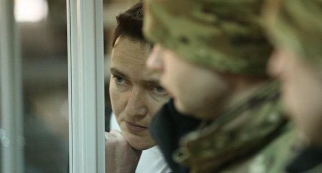 Блогер: из Савченко лепят образ мученицы, которая идет на Голгофу