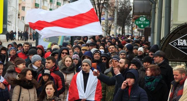 Арестович: в Минске отметили 100-летие провозглашения БНР – это позитивный сигнал, так как Москва не в восторге