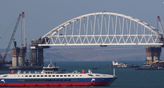 Омелян рассказал о многомиллионных убытках Украины из-за Керченского моста