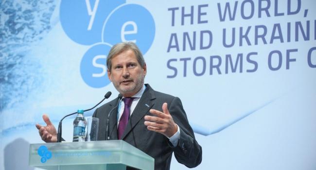 ЕС обвинил Киев в нарушении Соглашения об ассоциации