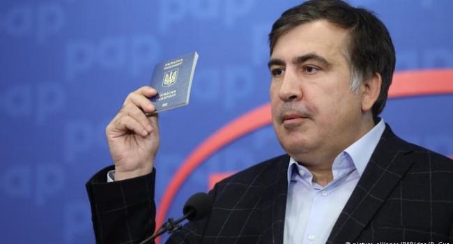 Политолог: нет денег – нет и Саакашвили – «без пяти минут нового президента Украины»