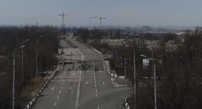 Боевики в Интернете показали вид оккупированного Донецка