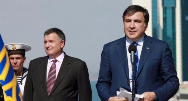 Аваков: «Политики, вроде Саакашвили, мне противны»