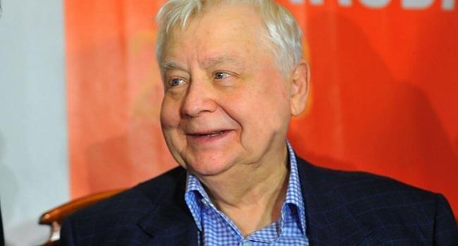 Актер: «За высказываниями Табакова об Украине стояли большие деньги»