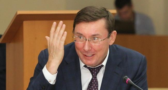 Блогер: Луценко сознательно отказался от самого «жирного» коррупционного заработка в ГПУ