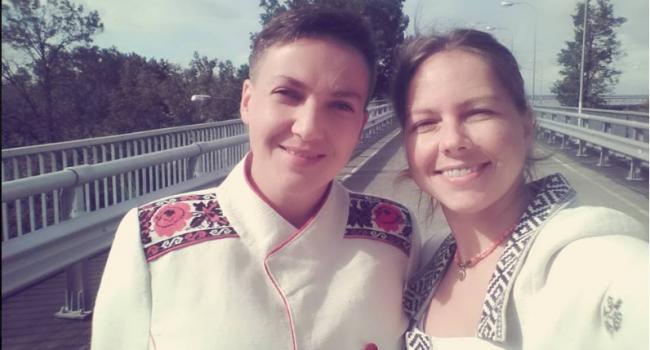 Вера Савченко поздравила украинцев с Пасхой «праздничными гранатами»