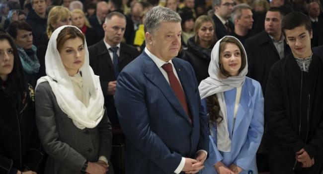 Поздравление с Пасхой от Порошенко: «Это победа над экономическим кризисом»