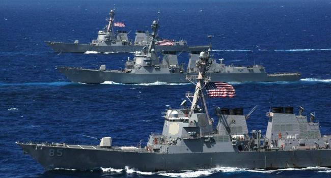 Трамп сосредотачивает в Средиземном море ударную силу ВМС США во главе с авианосцем «Гарри Трумэн»