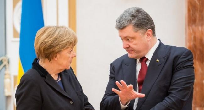 Трамп уже оценил то, что озвучила Меркель после встречи с Порошенко