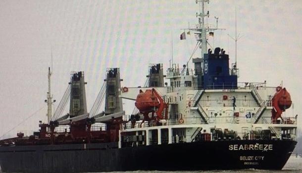 Луценко: суд Украины арестовал судно из РФ за незаконную добычу песка для Крымского моста