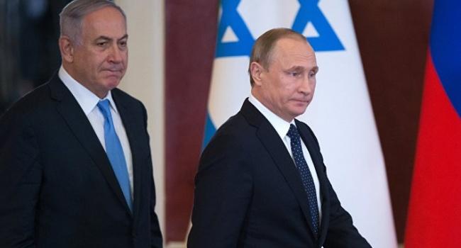 Путин настоятельно посоветовал Нетаньяху не вмешиваться в ситуацию в Сирии