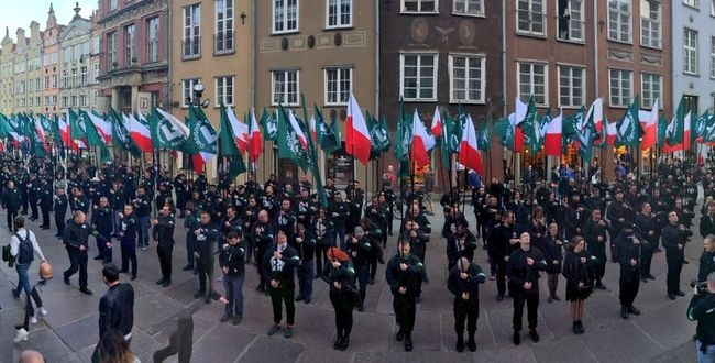 В польском Гданьске ультраправые провели марш – власти оправдались