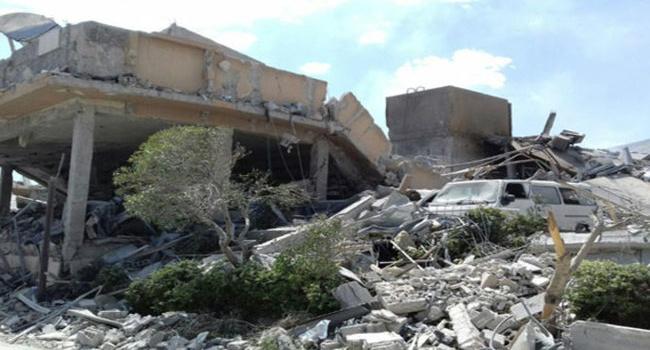 Удар ракетами по Сирии: в Интернете обнародованы снимки руин химинститута после атаки США и союзников