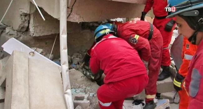 В Москве рухнул жилдом: обнародовано видео последствий
