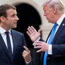 «Совсем запутались»: Трамп и Макрон сделали прямо противоположные заявления