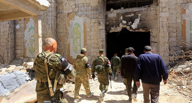 Военные Путина нашли в Дамаске склад с веществами для производства химоружия