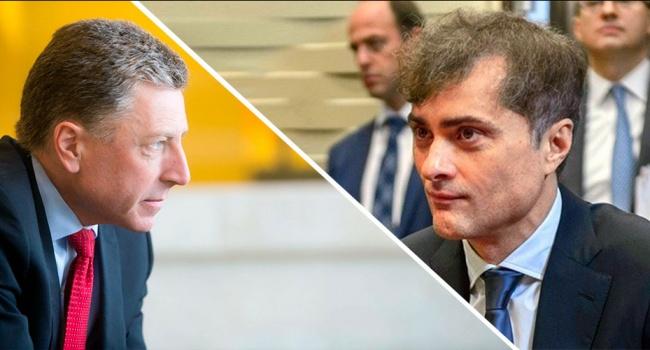 Песков сообщил о паузе в переговорах в формате Волкер – Сурков