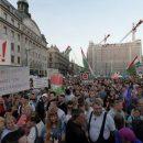 Массовые митинги в Будапеште: митингующие протестовали против пропаганды