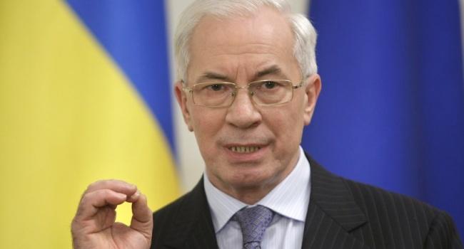 Евросоюз оставил Азарова под санкциями