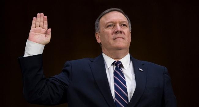 Новым госсекретарем США был утвержден Майк Помпео