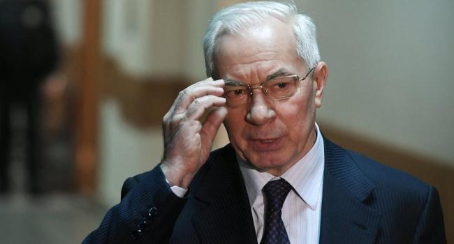 Журналист: «Новейшее излучение западных спецслужб повлияло на Азарова»
