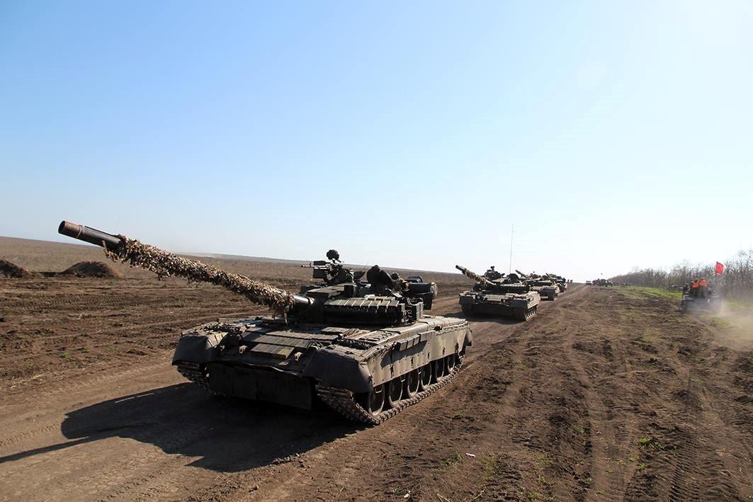 Украина провела крупнейшие в 2018 году тактические учения