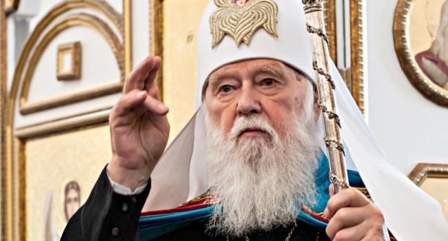 Патриарх Филарет: требования оккупационной «власти» в ОРДЛО к церквям неприемлемы