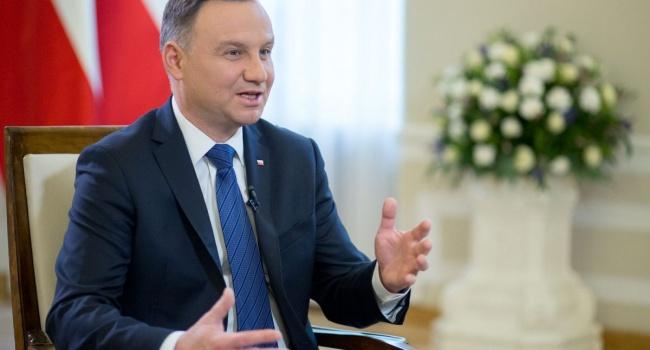 Дуда хочет поднять украинский вопрос в Совбезе ООН