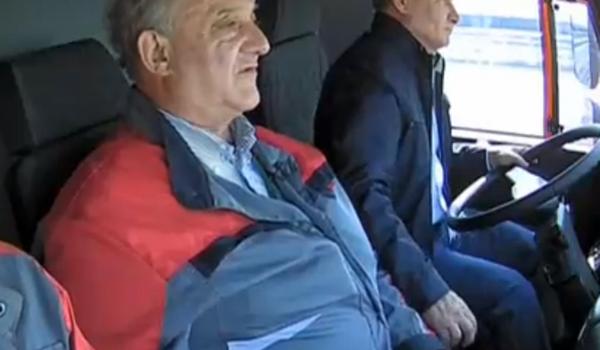 «Я не видел»: Песков нелепо оправдался за конфуз Путина на Крымском мосту