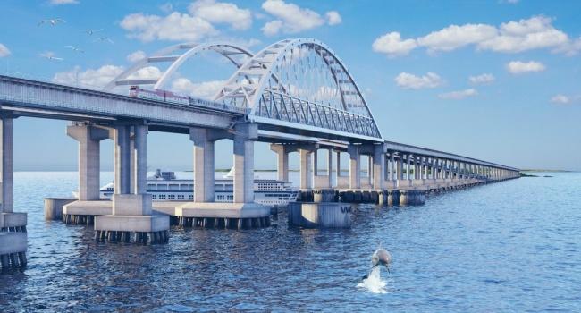 «Осуществил план Гитлера»: на КремльТВ раскрыли замысел Путина с Крымским мостом