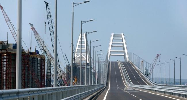 Политолог: «Когда полуостров вернется в Украину, Крымский мост не станут сносить»