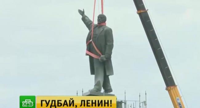Порошенко озвучил число демонтированных в Украине памятников Ленину