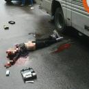 Смертельное ДТП в Борисполе: автобус сбил двух девочек на роликах на пешеходном переходе